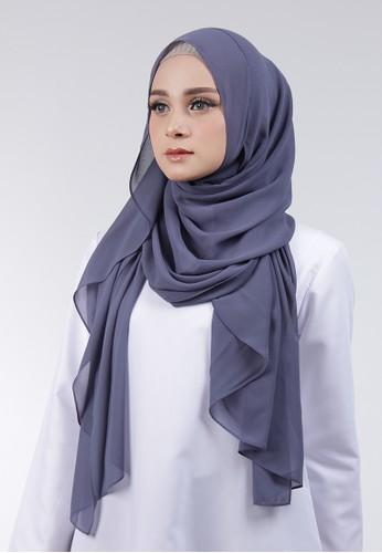 Cantik Kerudung grey Adela Instant 5A5CBAAE6B7215GS_1