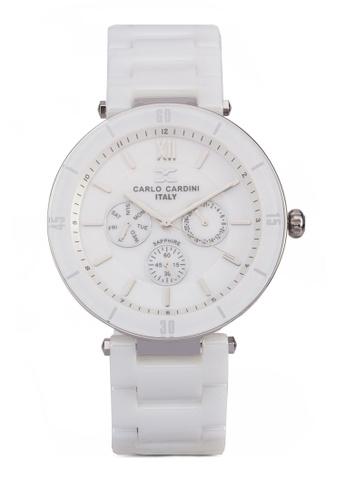 Carlo Cardini white Carlo Cardini Watch 4027LC-WHT-1 CA038AC94IZHMY_1