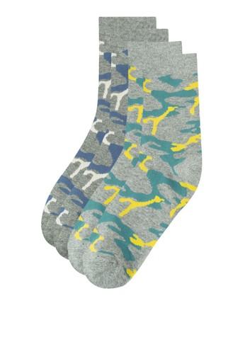 二入逗趣印花襪子, zalora 折扣碼服飾, 服飾