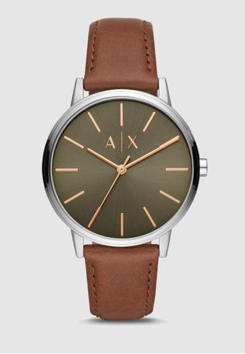 Armani Exchange brown Cayde Watch AX2708 7B372AC0F80F7EGS_1