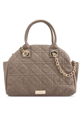 領格紋軟襯hobo手提包, 包, esprit童裝門市包