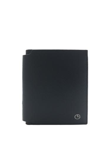 16adced2c4f9 Buy Goldlion Saffiano Leather Slim Wallet Online on ZALORA Singapore