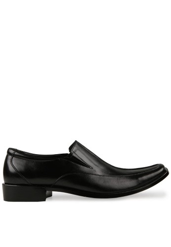 Andretelli black Pinch The Middle Style Shoes AN907SH53WVAID_1