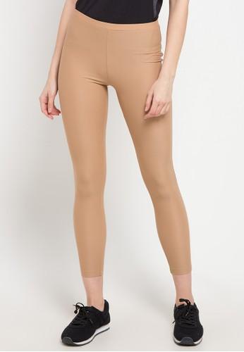 OPELON brown Legging 91B29AABFF071BGS_1