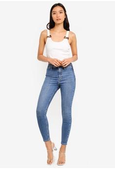 7cf26e75a117 TOPSHOP Mid Denim Jamie Jeans S  83.90. Sizes 26S 28S 30S