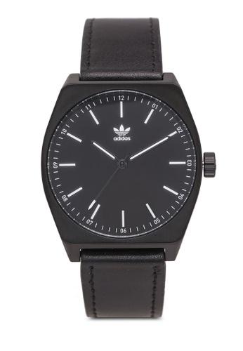 Adidas black adidas originals Process L1 Watch 10BE0AC69FC473GS_1