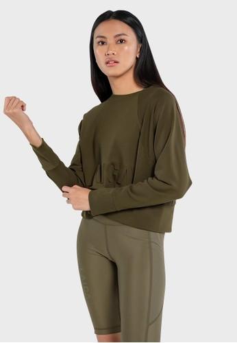 Laica green Laica Essential Sweatshirt 4268FAA2FA8BD1GS_1