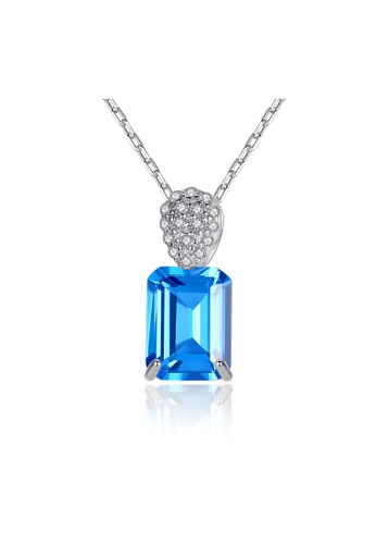 SUNRAIS silver Premium Silver S925 Silver Heart Necklace 0686BACDDF73AFGS_1