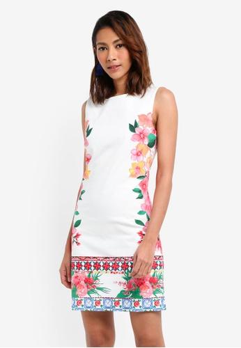 Desigual white Cher Dress EAD4EAA3B95BFFGS_1