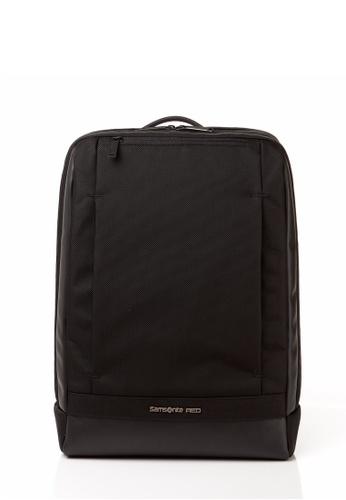 Samsonite Red black Samsonite Red Daaon Backpack M (Black) SA464AC0SM1FMY_1