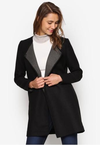 裹飾長版外套, 服飾, 夾克 &ampesprit outlet 桃園; 大衣