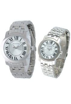 Set of 2 Watches: Analog Watch