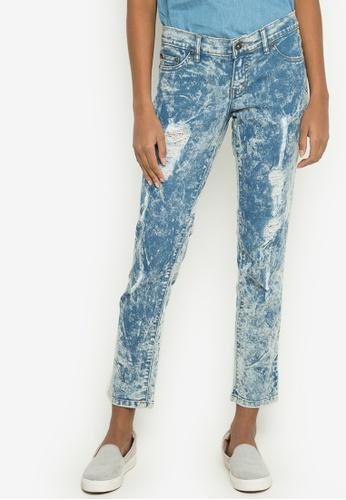 NEXT grey Acid Wash Jeans NE725AA0JXKIPH_1