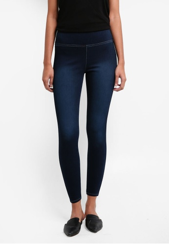 River Island blue Denim Leggings C046FAAF47769EGS_1