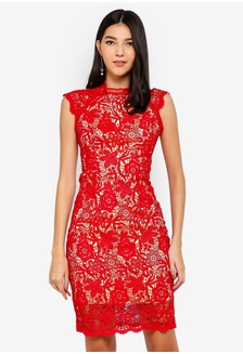 6cac734ec8 Red Romance Roesia Full Lace Dress 40C74AAED82694GS 1