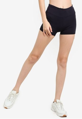 Cotton On Body navy High Waisted Shortie Shorts 606D1AA46D0136GS_1