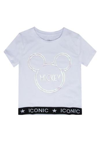 FOX Kids & Baby white Short Sleeve Tee C7C42KAA68543FGS_1