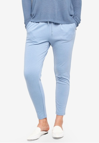 ICHI blue Kate Pants A5BF7AA666BE4AGS_1