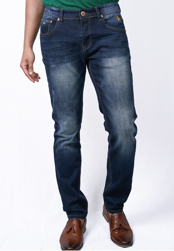 MILANO blue Milano Jeans Long Pants Tight Fit Stretchable 4B72EAAD25D50FGS_1