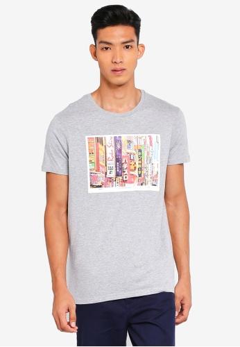 Cotton On 灰色 短袖印花T恤 CCA19AA0AA3267GS_1