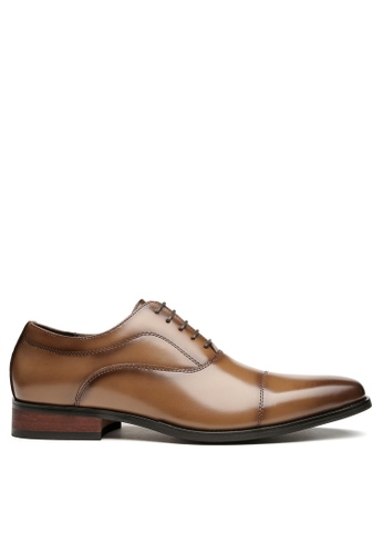 Twenty Eight Shoes Leather Cap Toe Business Shoes KB888-1 17527SHA6E477EGS_1