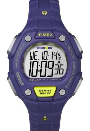 TIMEX purple Timex IRONMAN® Classic 50 Mid-Size - Purple Resin Strap Watch TI857AC84CNZSG_1