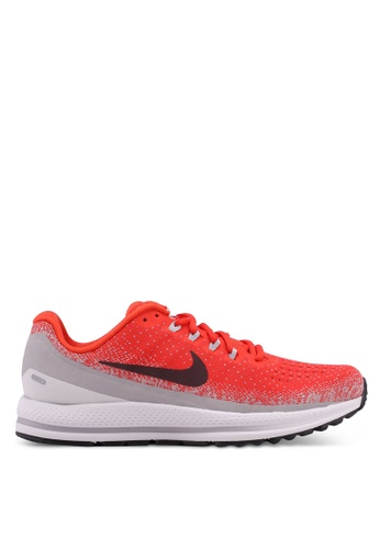 Nike red Men's Nike Air Zoom Vomero 13 Running Shoes 2F518SHCBEA492GS_1