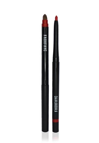 Faux Fayc Fauxstix Mechanical Lip Pencil - Salsa FA334BE55SFSSG_1