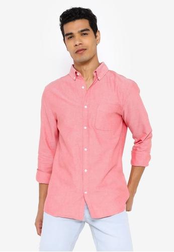Cotton On red Brunswick Shirt 3 0B297AA0D922CEGS_1