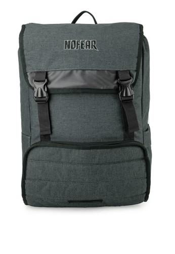 No Fear black Aioros - Backpack 646BCAC317A657GS_1