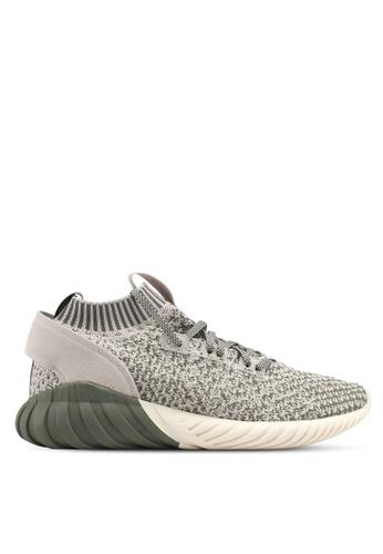 adidas green adidas originals tubular doom sock pk AD372SH0SUOUMY_1