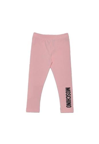 MOSCHINO BABY KID TEEN pink MOSCHINO BABY LEGGINGS B2F3CKA4A4C5F1GS_1