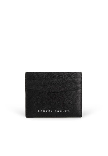 Samuel Ashley black Finley Card Holder - All Black CD789AC12E546CGS_1