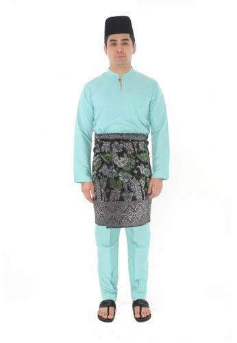 Amar Amran green Baju Melayu Gumbae 9A813AAC09759DGS_1