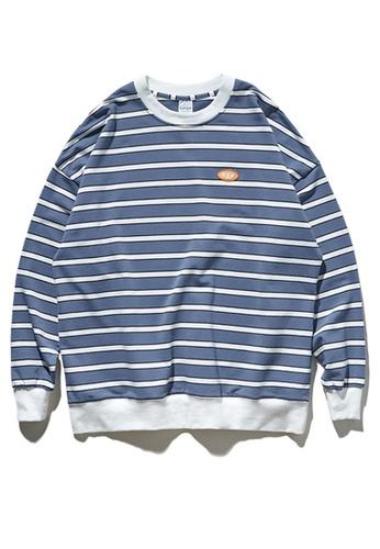Twenty Eight Shoes Vintage Stripe Long T-shirt 9617W 5D990AA929E0E3GS_1