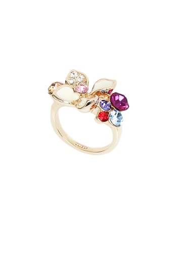 OUXI multi and gold Italina Ring 95842 OU821AC42LSRMY_1