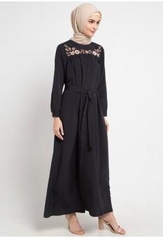 9bcca0a9ebb OMARA black Vanesa Dress F8813AA697E5B1GS 1