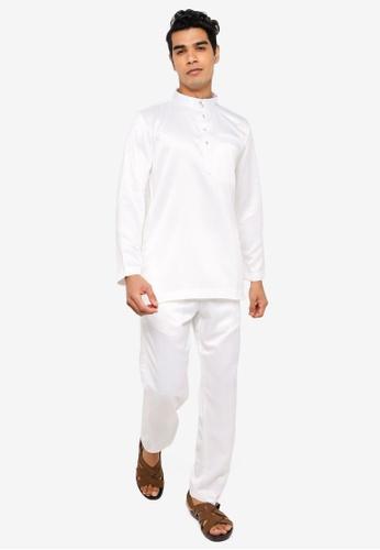 REALFANTASY white BAJU MELAYU SHAH ISKANDAR 09976AA013444DGS_1