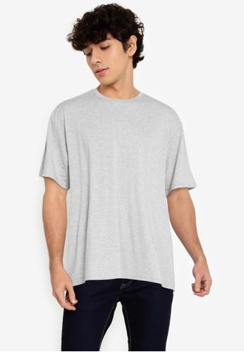 ZALORA BASICS grey Wild Wild West T-Shirt C72A8AA6815407GS_1