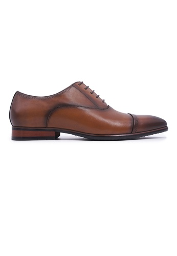 Rad Russel brown Rad Russel Lace-up Oxford - Tan 7721CSHB087521GS_1
