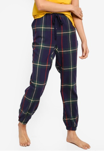 Cotton On Body multi Dropped Flannel Pants C3B53AA973C284GS_1