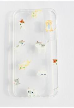 Cats Soft Transparent Case for iPhone 5/5s/SE