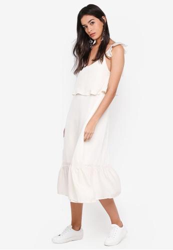 GHOSPELL white Eight Count Cami Dress B27BEAA459655CGS_1
