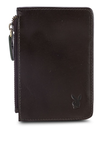 Playboy brown Playboy RFID Blocking Card Holder 0DFA3ACB2DCCA2GS_1