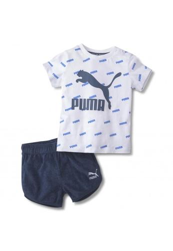 PUMA blue Minicats Prime Babies' Set 1536CKAFD6A55BGS_1