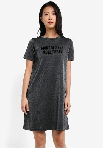 ESPRIT black Knitted Mini Dress ES374AA0SAY8MY_1