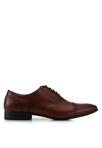 ALDO brown Nalessi Lace Up Shoes 93E96SH9013485GS_1