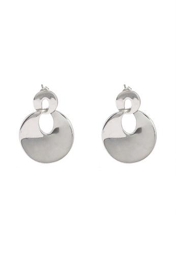 niko and ... silver Disc Drop Earrings AB0B6AC6BD0D1DGS_1