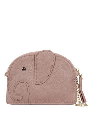 HAPPY FRIDAYS Zipper Leather Mini Wallet JN2161 194ACAC7C616E7GS_1