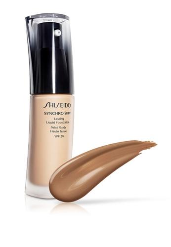 Shiseido brown and beige Shiseido Makeup Synchro Skin Lasting Liquid Foundation, N5 30ml SH514BE0GMF6SG_1